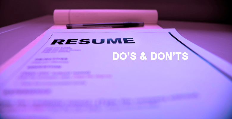 Common Resume Mistakes Recruiters See