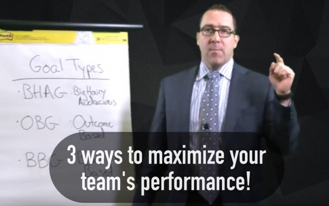 Systems Personnel Jim Cipriani, Jr. talks about Setting Effective Team Goals