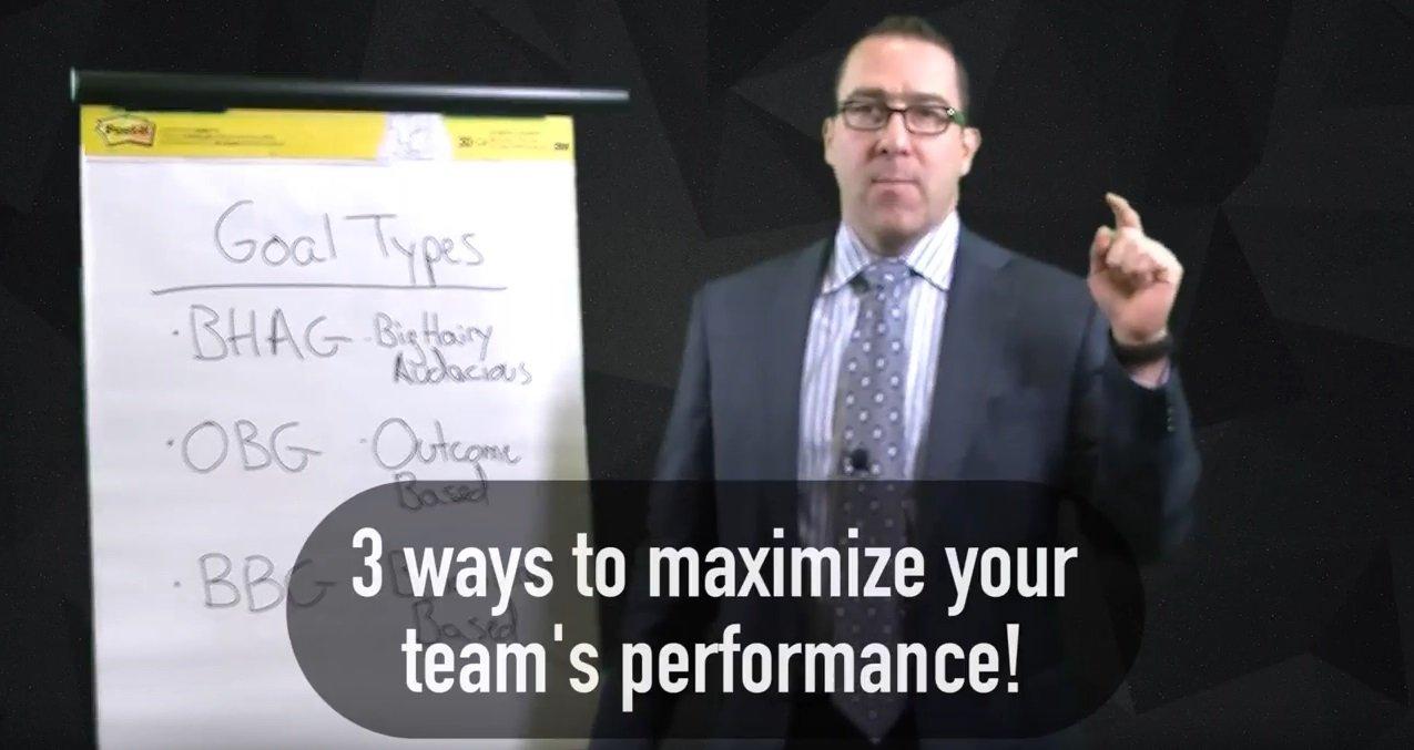 setting effective team goals  video