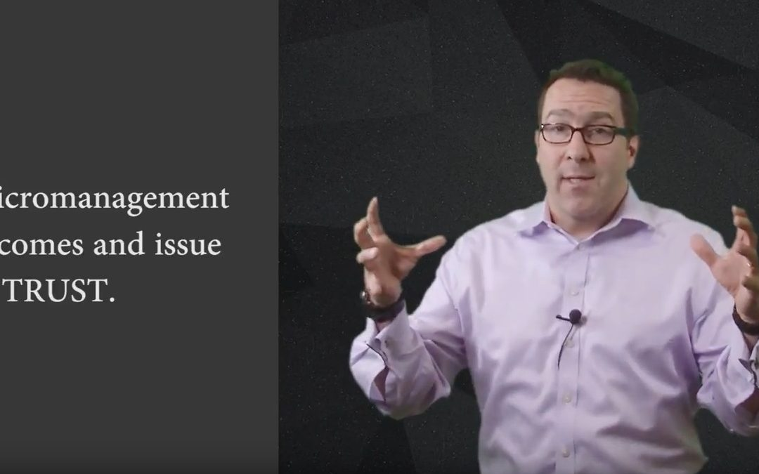 Why Micromanagement Forces Employees to Quit {VIDEO}