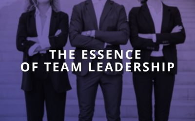 The Essence of a High Performing Team – Harnessing Selfishness