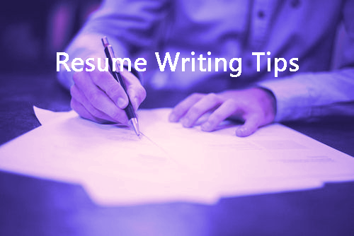 resume writing tips 2 - Blog