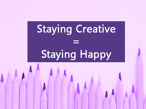 A recruiter share's how Staying Creative = Staying Happy at Work