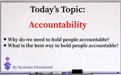Accountability 400x250 - Systems Personnel Buffalo, NY Recruiters