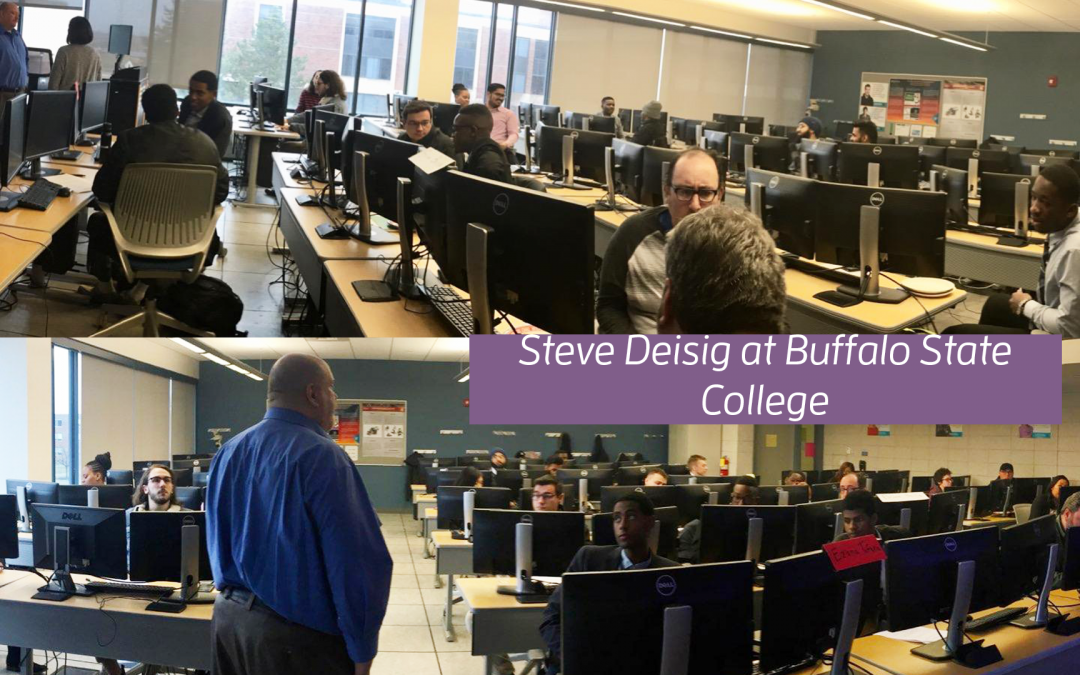 Steve Deisig Presenting at Buffalo State College